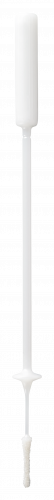 FLOQSwabs® 56780CS01 Contoured Pediatric Flocked Swab w/Stopper in Peel with 80mm Breakpoint