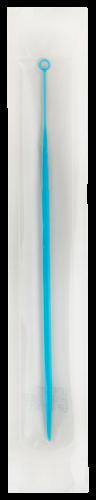 Plastic Inoculating Loops, Needles & Spreaders CD179S01 10 µL Flexible Light Blue Plastic Inoculation Loop