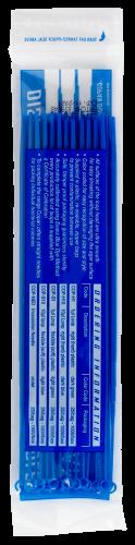 Plastic Inoculating Loops, Needles & Spreaders COP-H10 10 µL Rigid Dark Blue Plastic Inoculation Loop - 25 per Bag