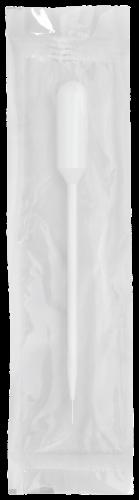 Transfer Pipet w/ Fine Tip - Non-Graduated with 3.5 mL Bulb Draw, Sterile