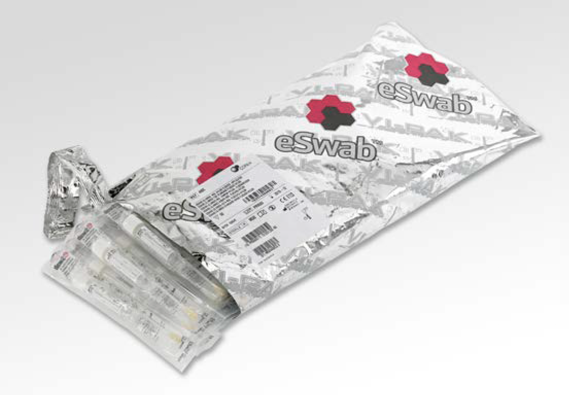 VI-PAK Barrier Outer Foil Pack for ESwab™