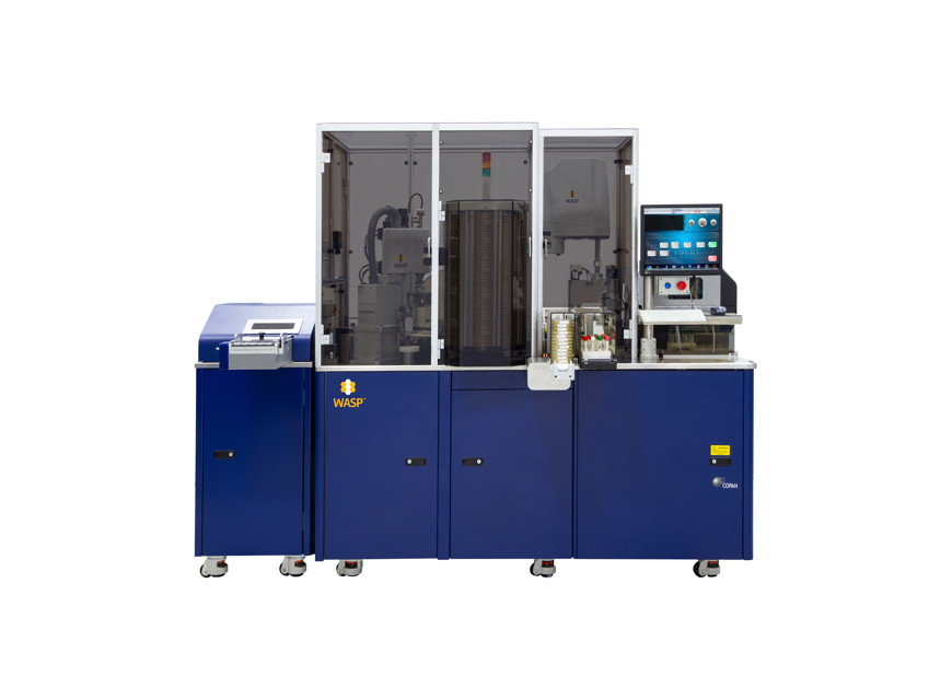 Laboratory Automation WASP®DT System that Automates Specimen Processing in Microbiology, Including Planting, Streaking, Gram Slide Preparation, Broth Inoculation and Disk Application